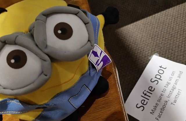 The National Steinbeck Center will be giving out prizes to the best 19 selfies today! #steinbeckcenter #19thanniversary #selfiecontest #johnsteinbeck #csumb #arts4mc #salinas #montereycounty #despicableme3 #minions #montereybaylocals - posted by Ernesto Altamirano https://www.instagram.com/ealtamiranojr - See more of Monterey County at http://montereybaylocals.com