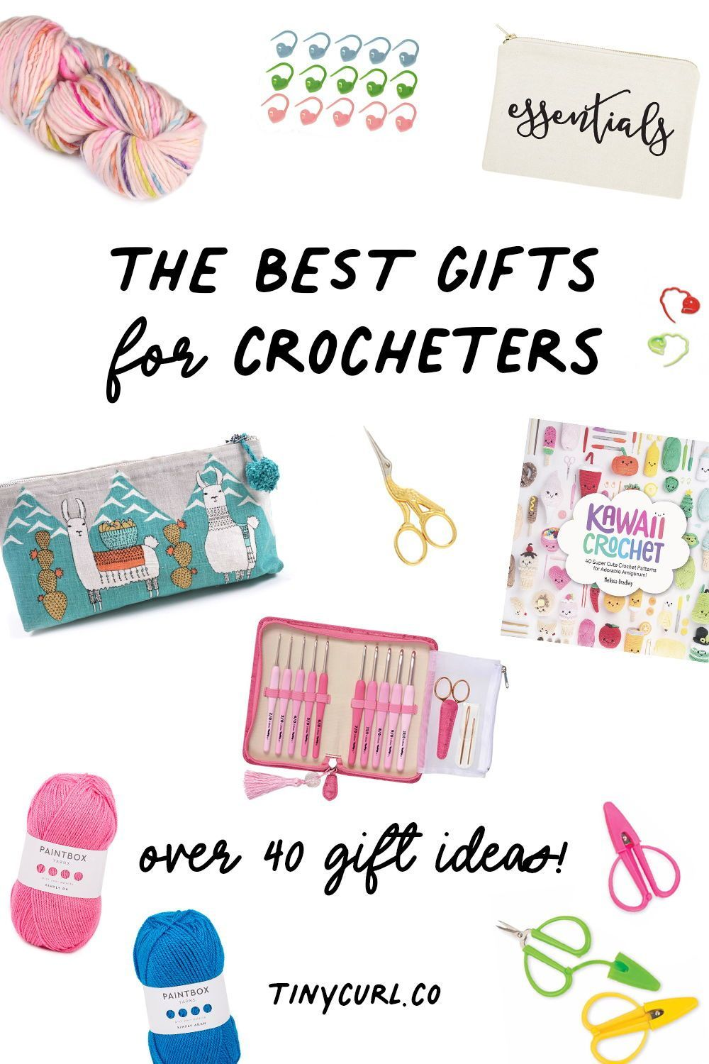 The Best Gifts For Crocheters Tiny Curl Crochet Kawaii Crochet Crochet Lovers Modern Crochet Patterns