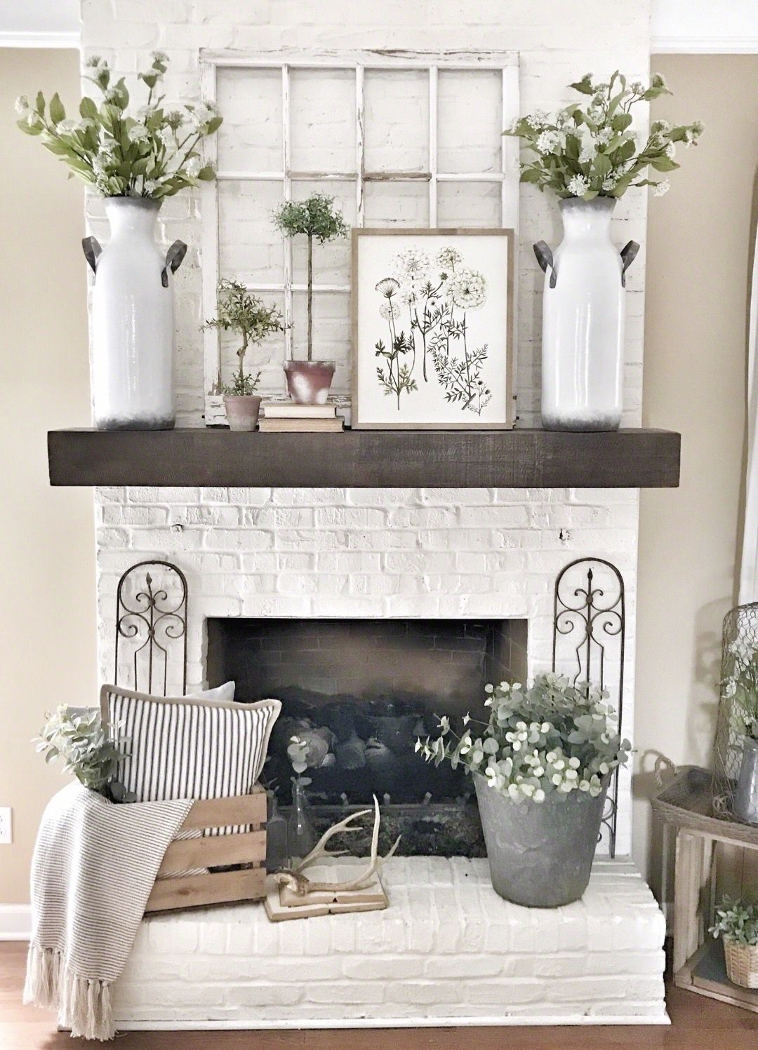 Photo of My Pottery Barn Shelf Mantel Hack | Bless This Nest