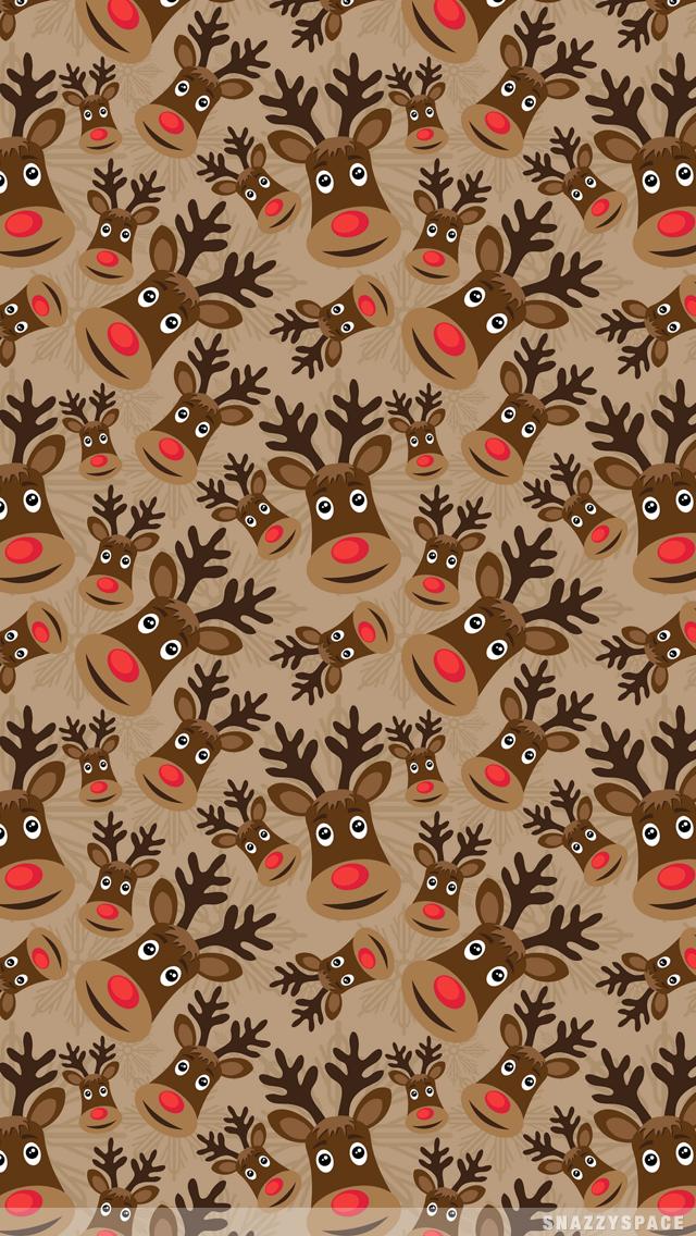 reindeer wallpaper iphone Google Search Christmas