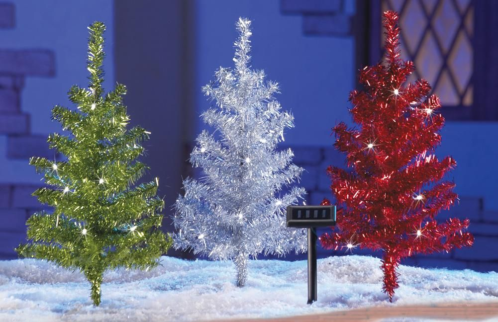 cheap solar powered christmas decorations