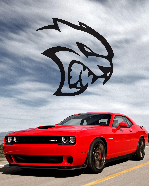 Hellcat engine ringtone and wallpaper Dodge Challenger