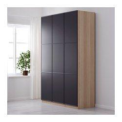 IKEA - PAX, Vaatekaappi, 150x60x236 cm, perussaranat, , 10 vuoden takuu. Lisätietoja ja takuuehdot takuuvihkosessa.Tätä valmista PAX/KOMPLEMENT-kokonaisuutta on helppo muokata omia tarpeita vastaavaksi PAX-suunnittelutyökalun avulla.Jotta tavarat olisi helppo pitää järjestyksessä, kaappiin kannattaa hankkia KOMPLEMENT-sarjan sisusteita.Säädettävien jalkojen ansiosta seisoo tukevasti myös epätasaisella alustalla.