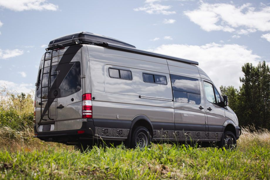 Daydream 4x4 Mercedes Benz Sprinter 170 Ext With Seating For 7 And With The Roof Top Tent Comfortable Sleeping For 7 Custom Made Van Sprinter Van Class B Rv