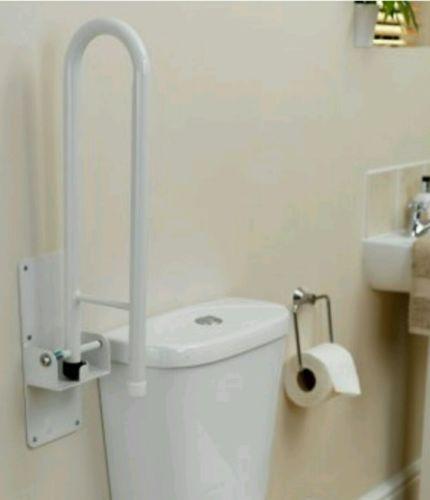 Homecraft Devon Safety Rail Frame Bathroom Toilet Grab Bar