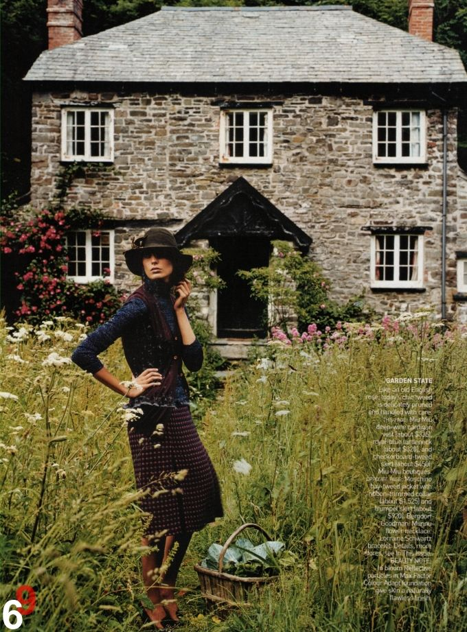 English country house with meadow Awesomeness Pinterest