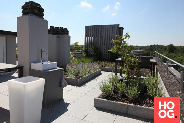 Luxe dakterras met moderne tuin veranda ideas outdoor veranda