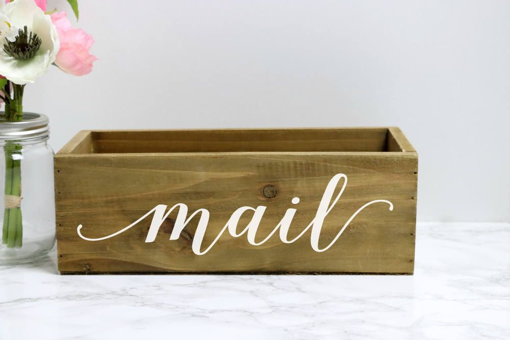 Office Warming Gift. Wonderful Office Mail Box Wooden Home Decor House Warming  Office Organizer And