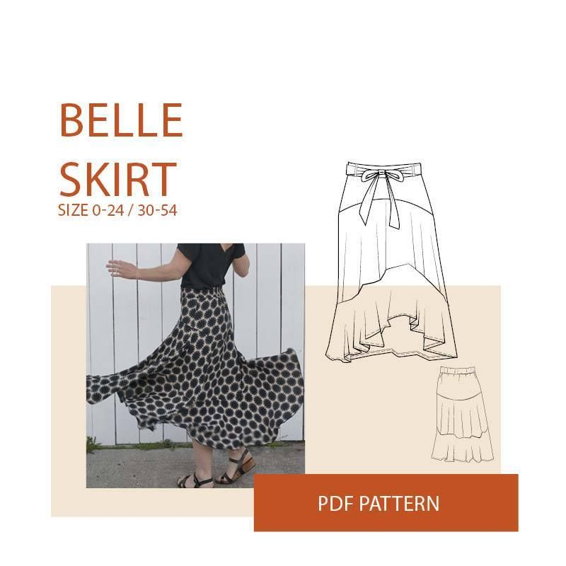 Skirt Sewing Pattern | Sewing Patterns Independents | Pinterest