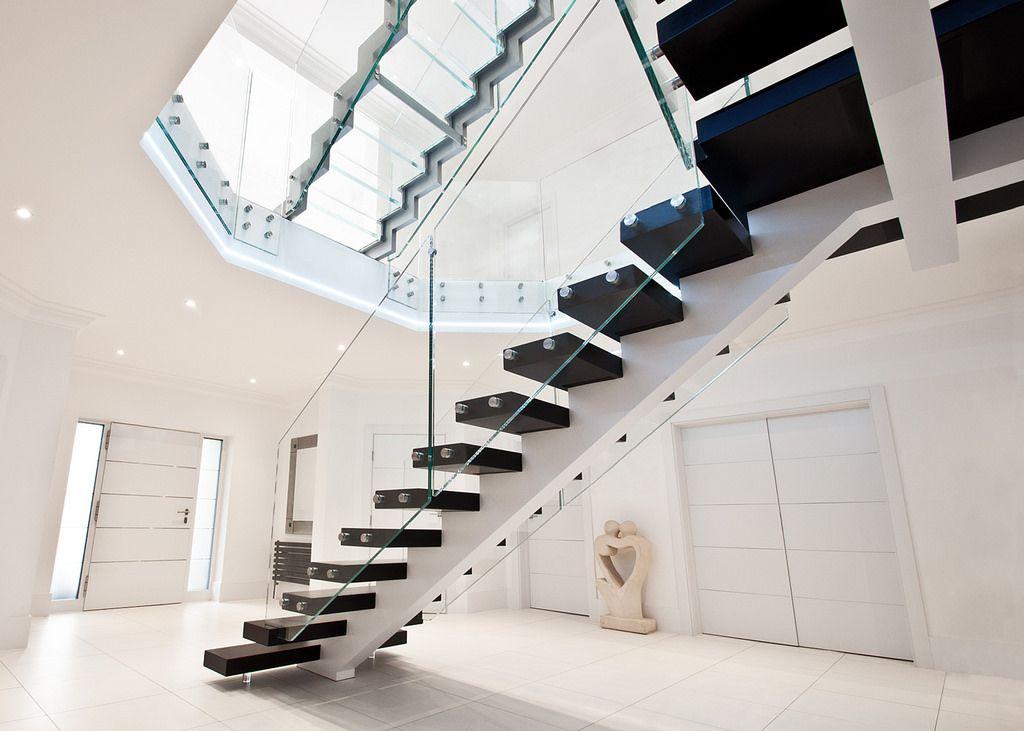 Best Ks2862 Halbarne House Modern Stairs Stairs Staircase 640 x 480