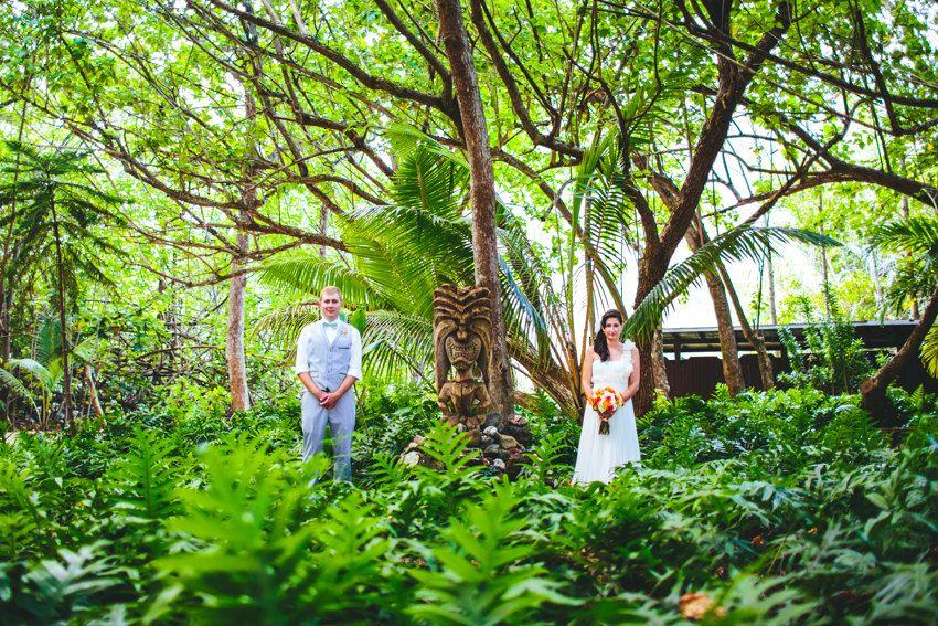 Brit and Tim – Kualoa Ranch Wedding on Oahu!Photo by The Goodness, Secret Island