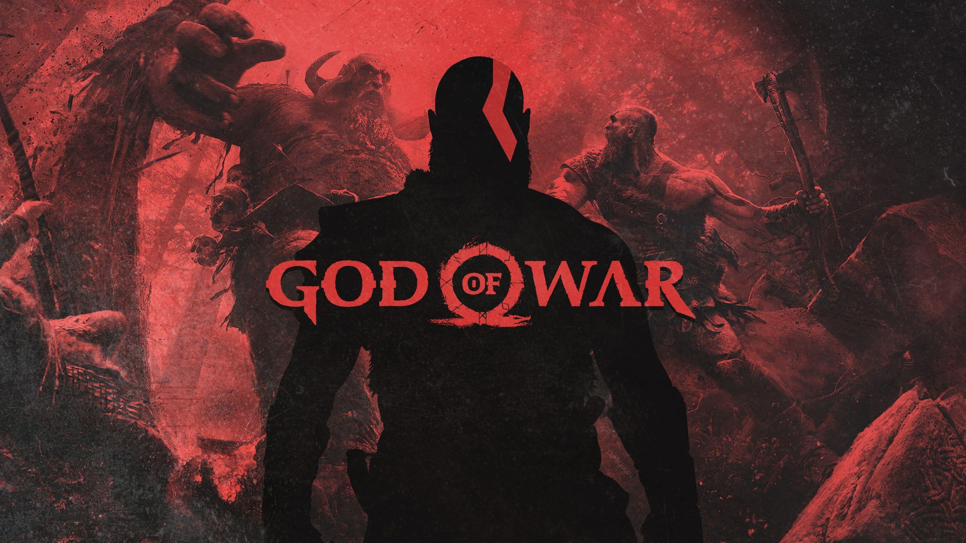 Kratos God Of War 4 God Of War 2018 Games Games Ps Games Hd 4k 4k Wallpaper Hdwallpaper Desktop God Of War Kratos God Of War War God of war 4 wallpaper 4k pc