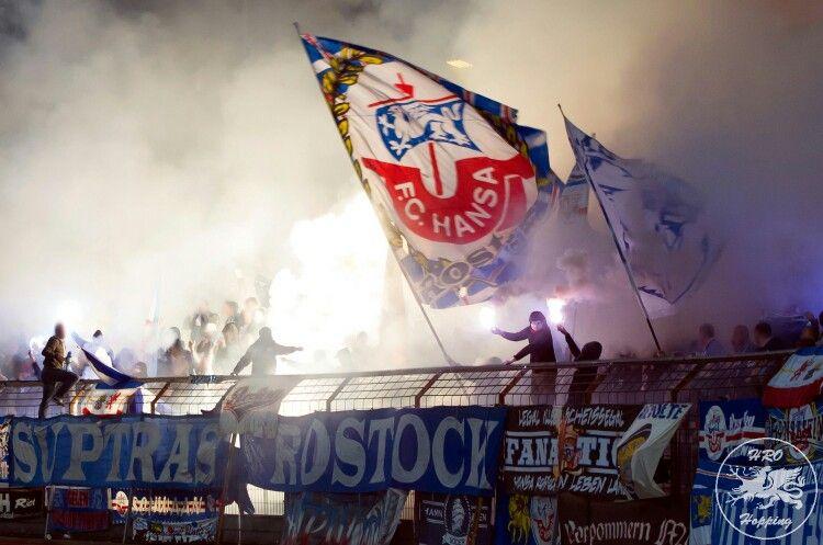 Pyro Der Suptras Hansa Rostock Rostock Bilder
