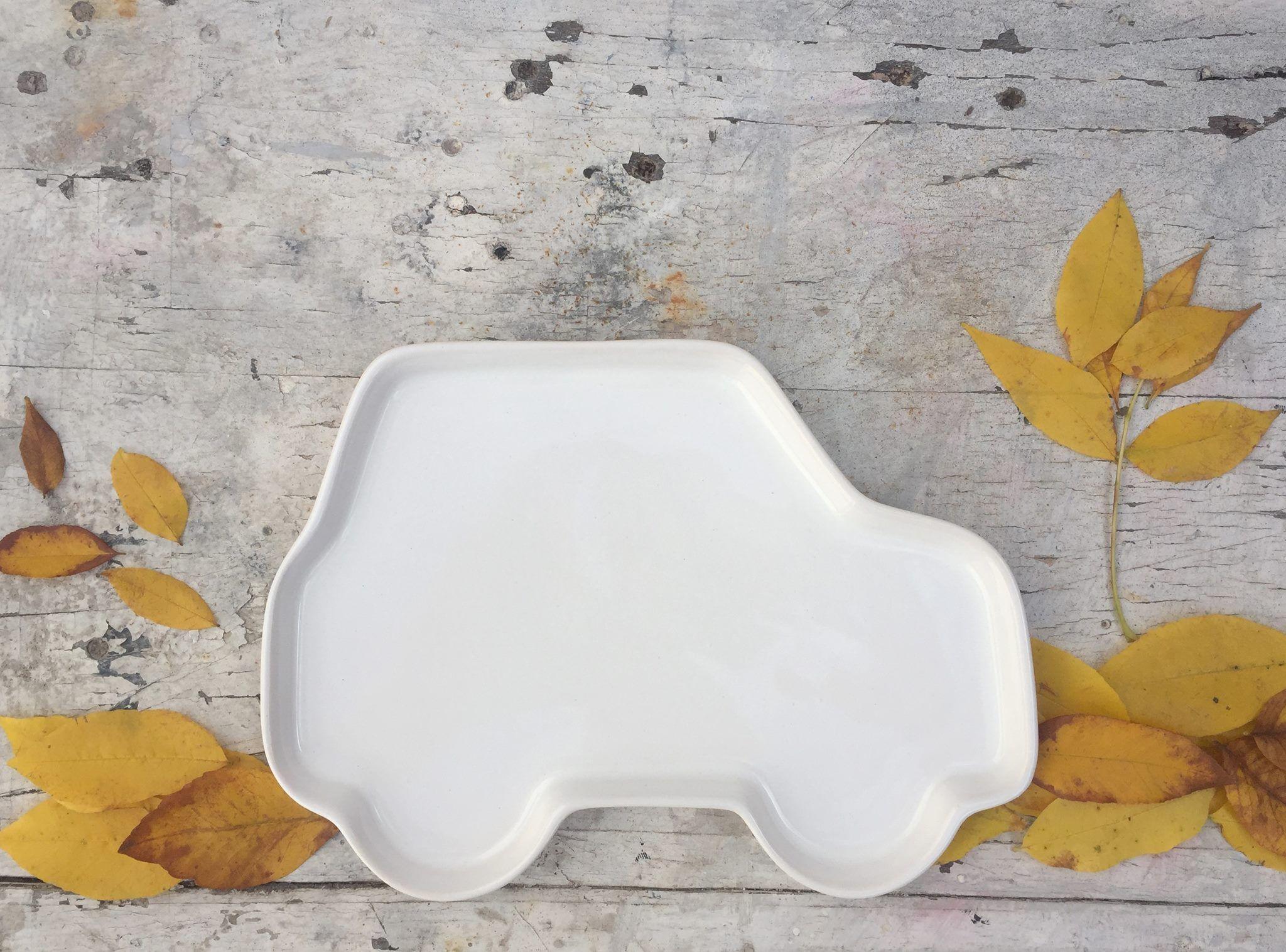 Ceramics kids plate -  Platos de ceramica para niños para hacer de la comida un momento más divertido, vajilla infantil, platos divertidos - ceramic plate for kids, fun at table, fun meal, kids tableware