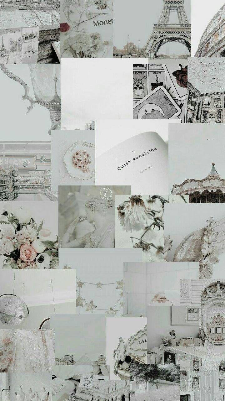 White astethic wallpaper by Iloveunicor - db - Free on ZEDGE™