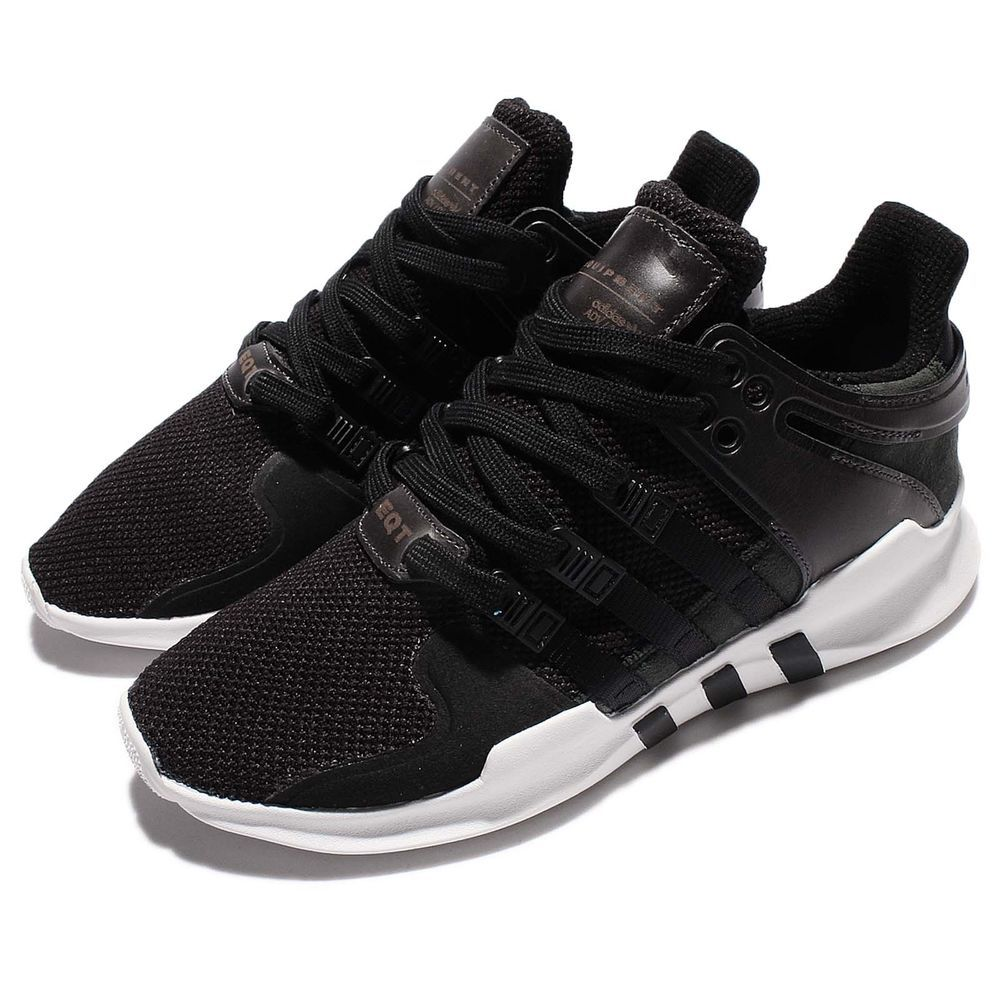 new styles ed17d ef919 adidas Originals EQT Support ADV Equipment Black White Men Retro Shoes  BB1295 S N  BB1295 Color  BLACK WHITE Made In  India Condition  Brand New  With Box .