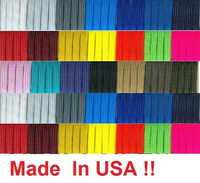 Details About New 550 Paracord Parachute Cord Mil Spec Type Iii 7