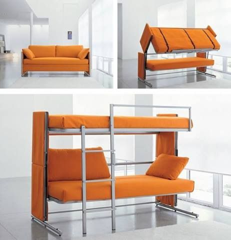 Magnificent Multifunctional Couch Bunk Bed Bunk Beds Beds For Small Uwap Interior Chair Design Uwaporg