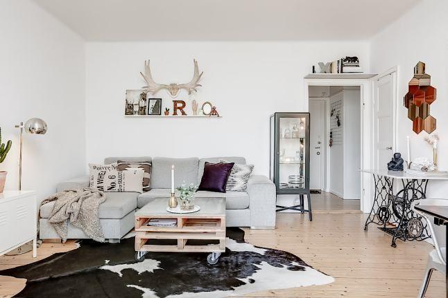 Un petit appartement simple et inspirant | PLANETE DECO a homes world | Bloglovin'