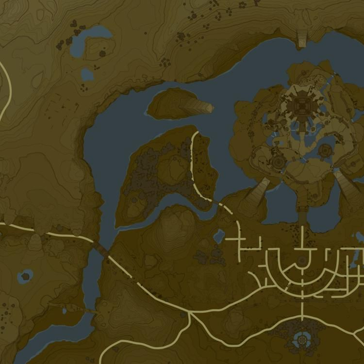 Breath of the Wild Interactive Map Interactive map