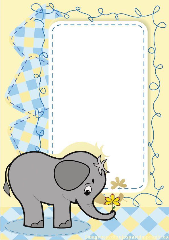Un elefante para bebes marcos para fotos infantiles - Fotos de elefantes bebes ...