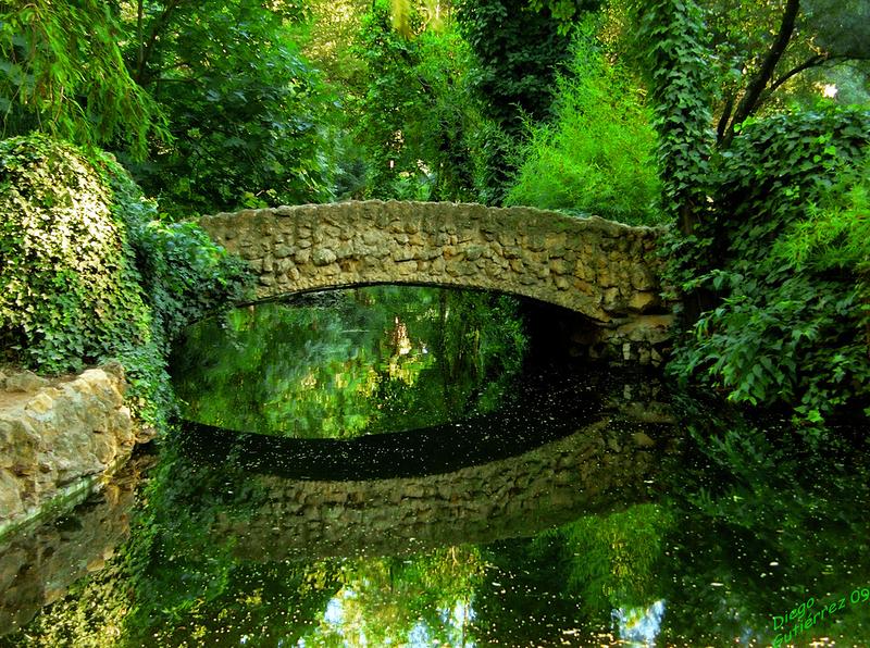 Stone Bridge, Seville, Andalusia, Spain