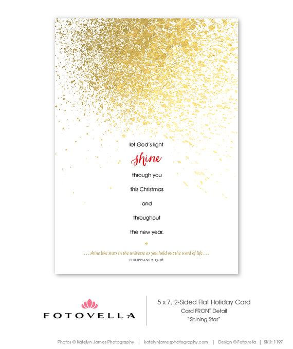Christian Christmas Card Template Photoshop Template by FOTOVELLA - christmas gift certificates templates