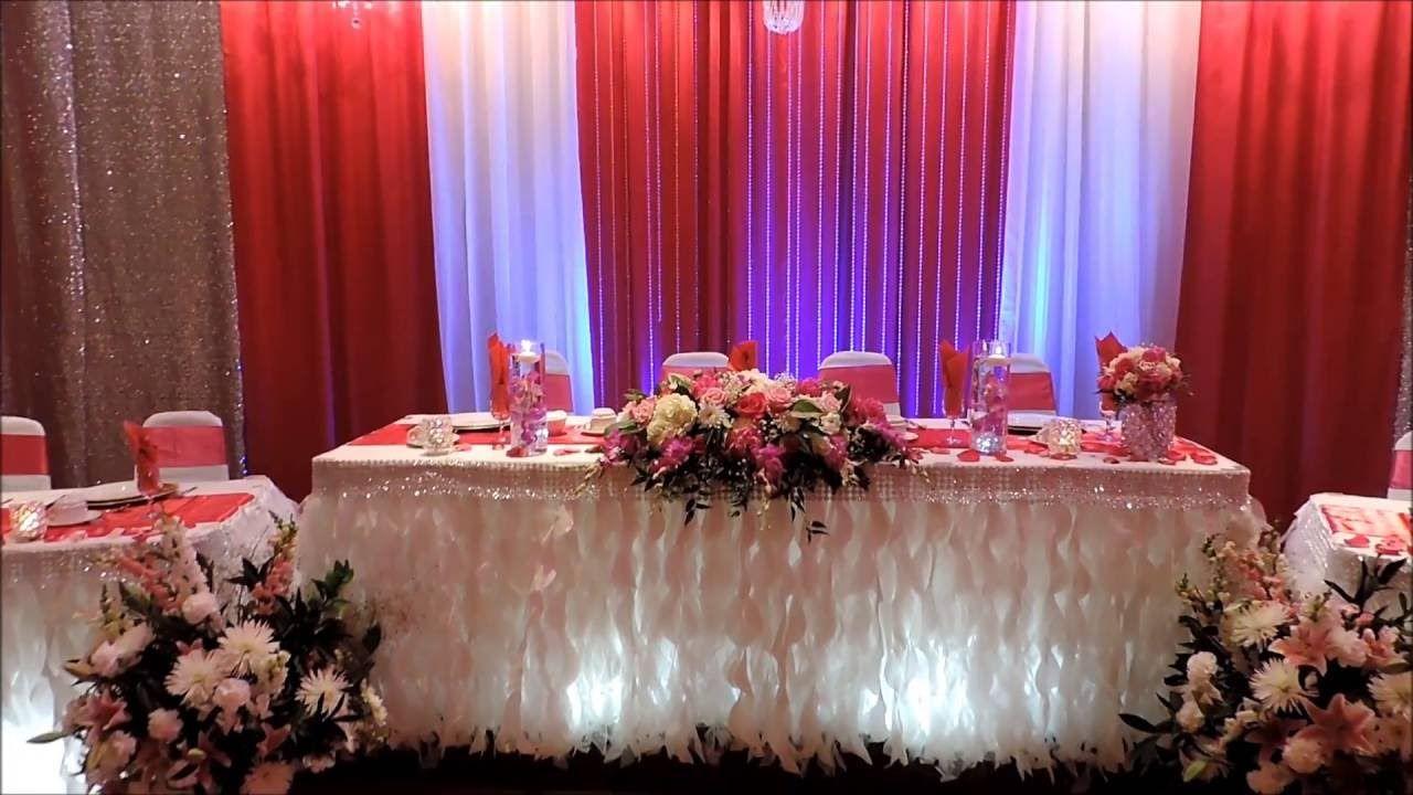 Wedding venue decoration images  Wedding Reception Decor u flowers arrangement ideaus  video