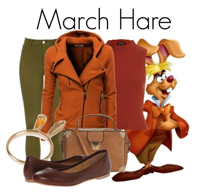 March Hare by samosaurus2014 on Polyvore featuring polyvore fashion style Doublju Type Z