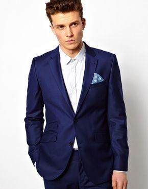 1000  images about Suits on Pinterest | Electric blue suit, Calvin