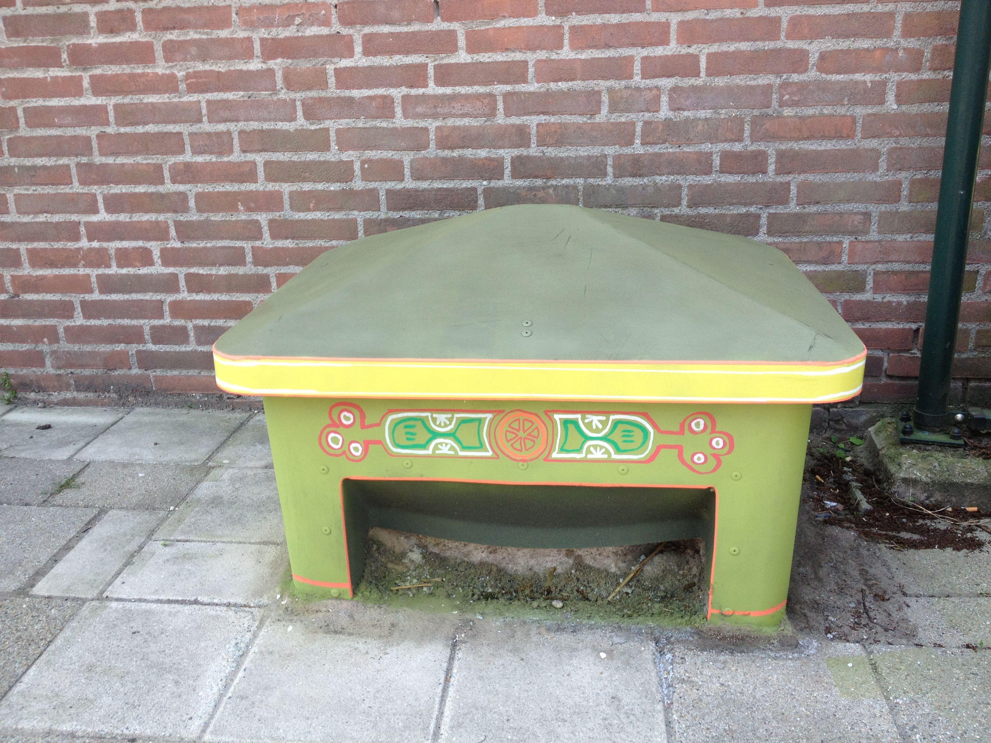 #streetart datsja Douke van den Ploeg for Denkbeelden van Yvette van der Does. www.denkbeelden.com