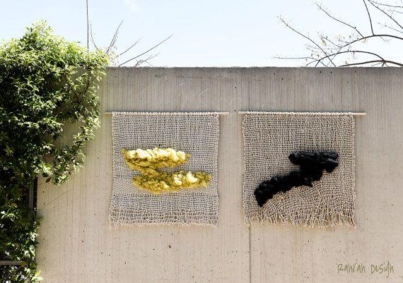 Weaving wall hanging / wall art / Ranran Design / by RanranDesign