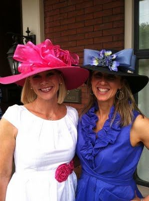 Derby...I intend to wear a hat like this someday!!