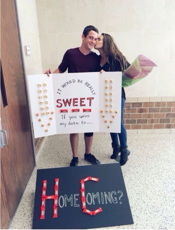 Sweet prom proposal #promproposal