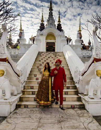 Indian Wedding Abroad International Destination Venues On A Budget Chaing Mai Weddings Pre