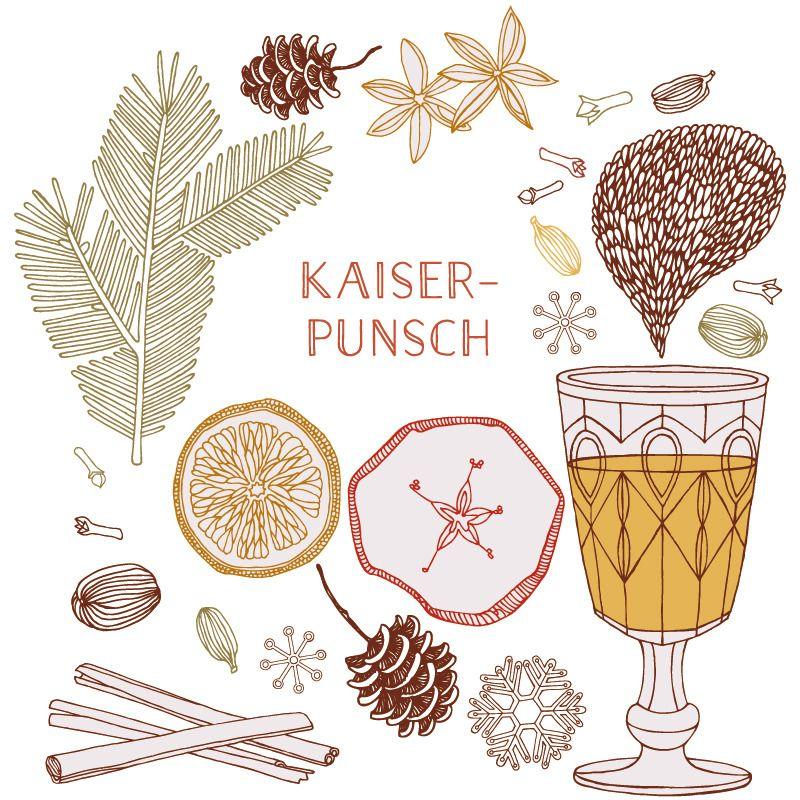 Rezept Kaiserpunsch Zutaten Fur 12 Personen 1l Wasser 275g Zucker 1 Kleine Vanilleschote 1 Kleine Zimtstange 1 Dose Ananas 4 Ora Punsch Weisswein Zutaten