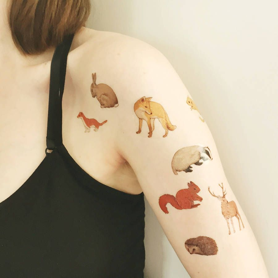 Image result for animal tattoos