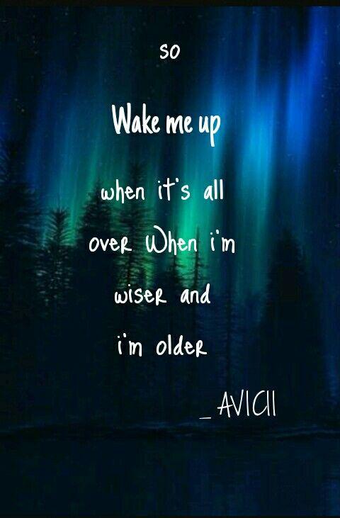 Avicii Song Lyrics Art Avicii Musician Quotes