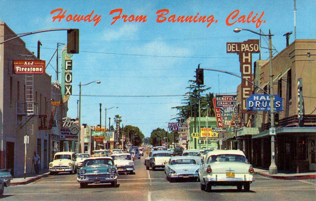 Banning,  CA -  sent