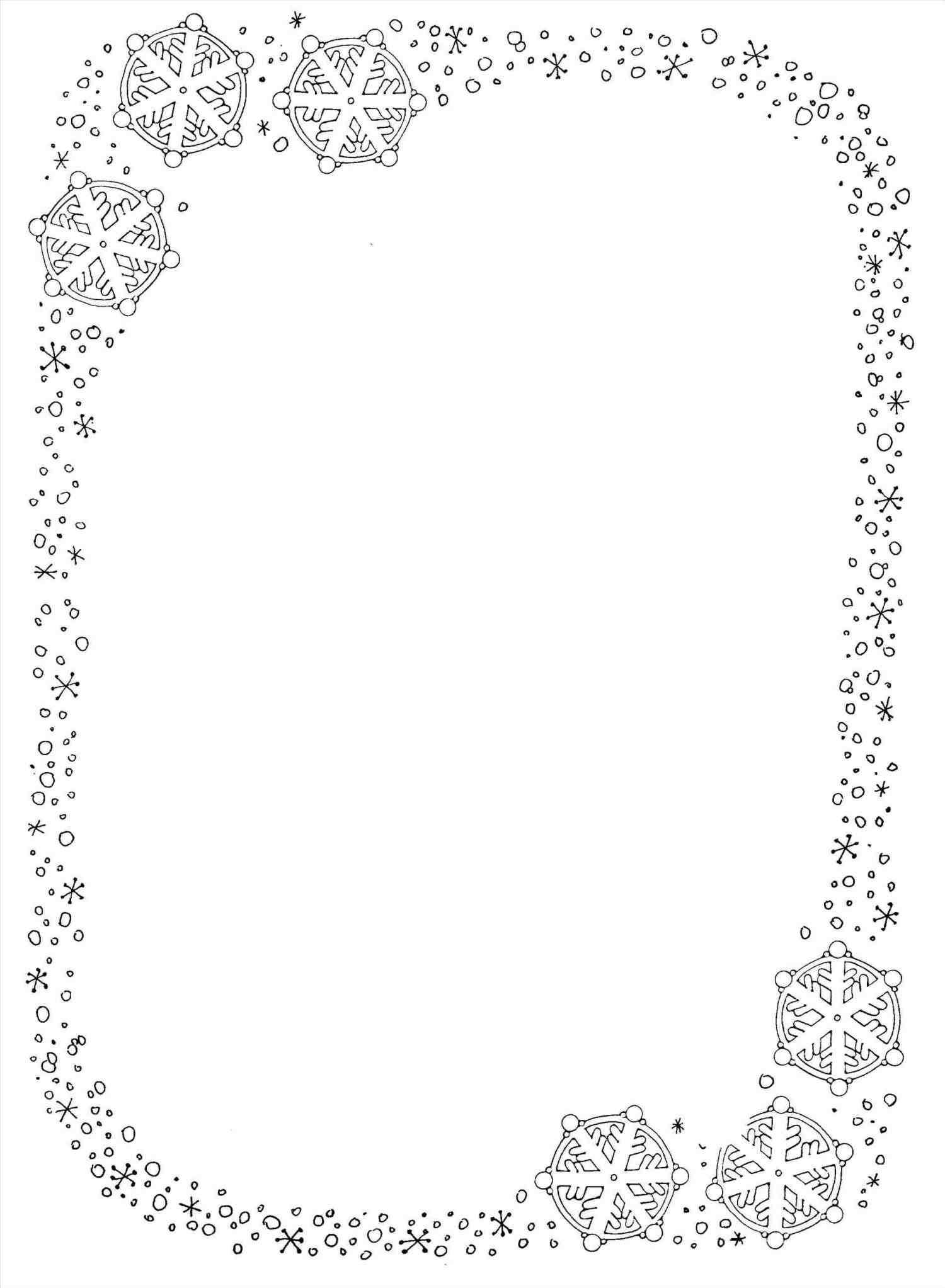 Xmast Site Free Printable Stationery Clip Art Borders Winter Paper
