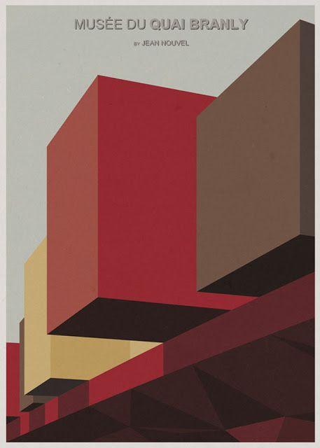 Las Ilustraciones de Arquitectura de André Chiote
