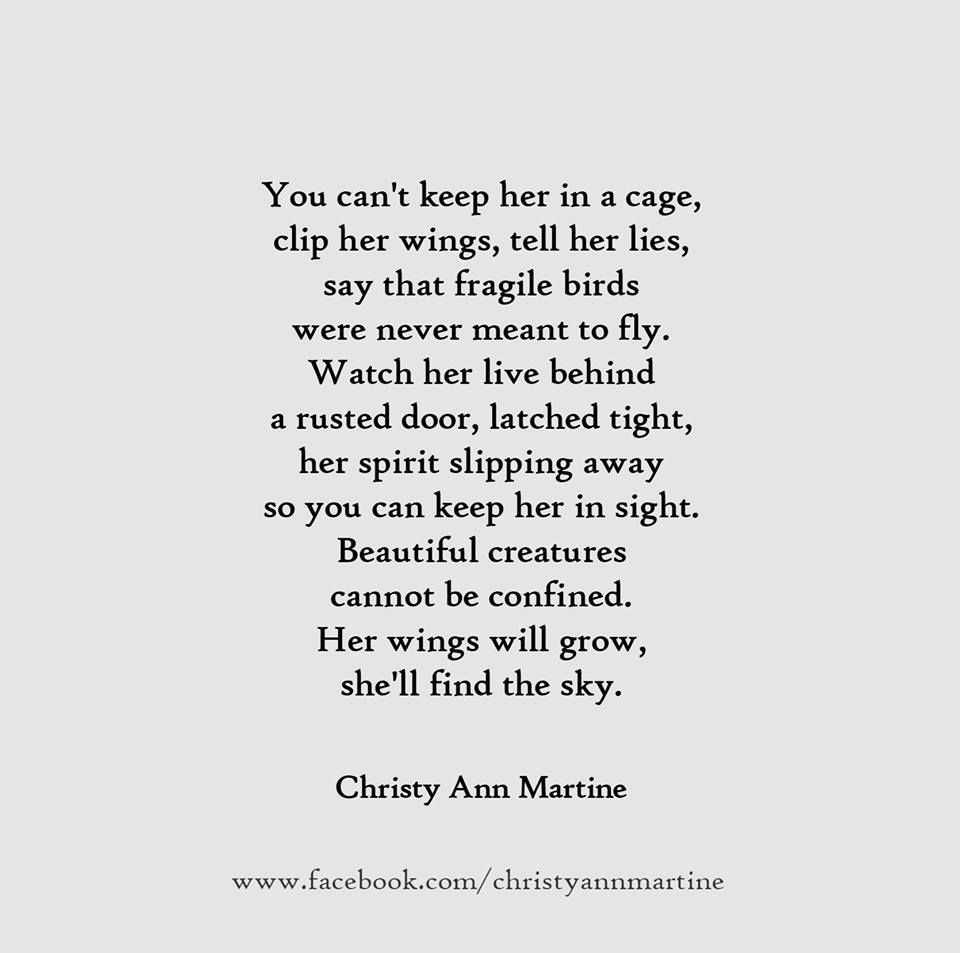 Domestic Violence Quotes You Can't Keep Her In A Cagedomestic Violence Abuse Poem  Quotes .