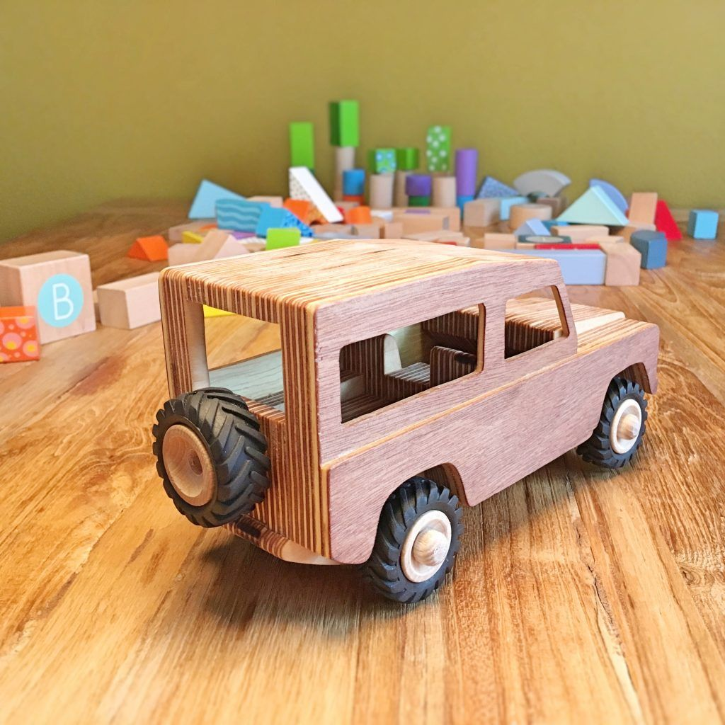 how to make a land rover wooden toy | scroll saw projects