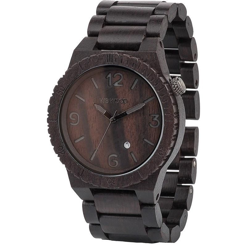 Wewood Alpha Blackwood Wood Watch Black Watches For