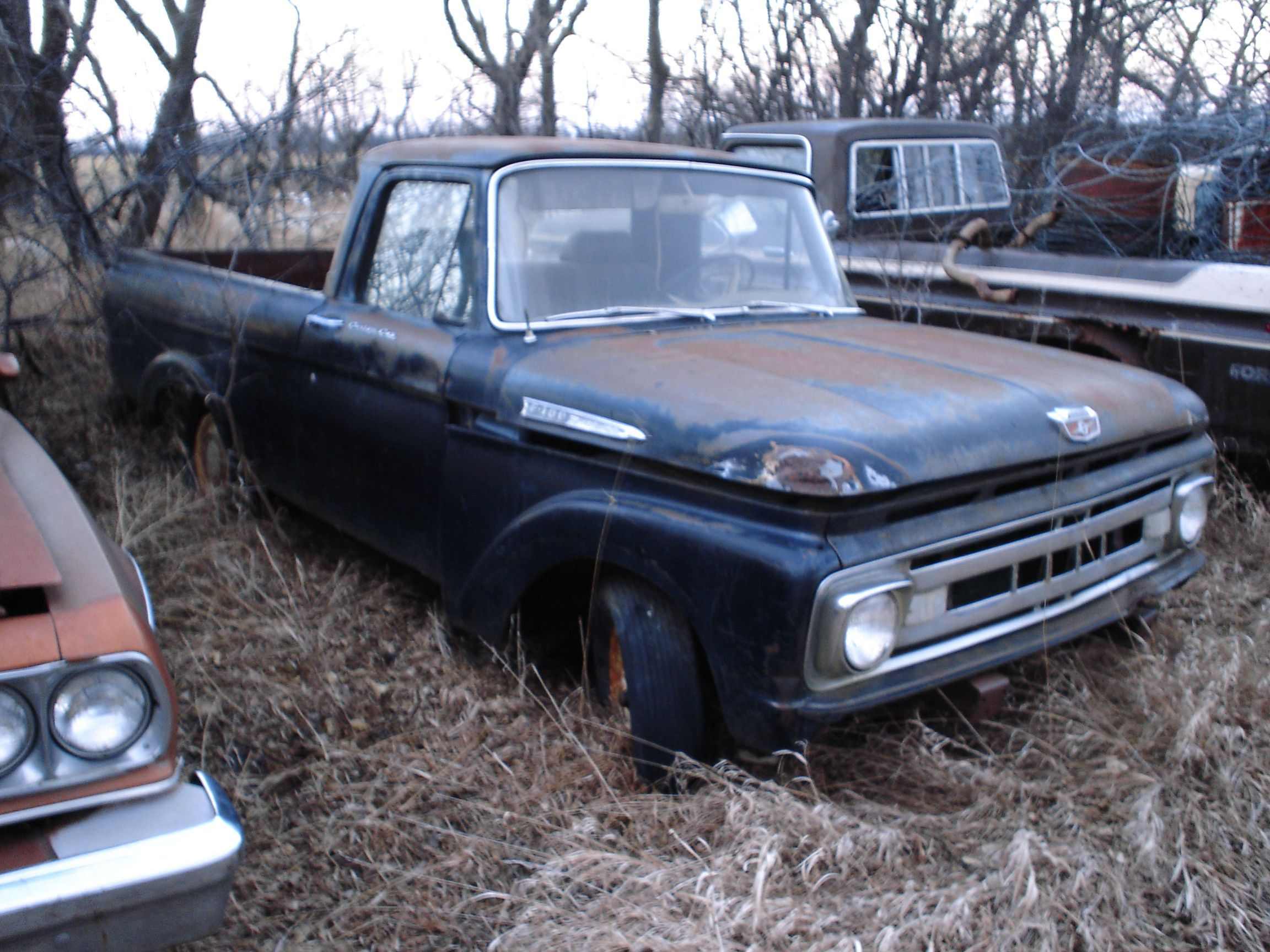 Early 60\'s Ford truck | Junk Yard | Pinterest | Ford trucks, Ford ...