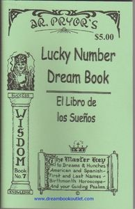 Dr  Pryor's Licky Number Dream Book | hoodoo stuffs in 2019