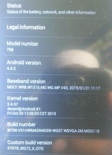 China Mobile: MicroMax Tab MM-8833 MT6572 Firmware