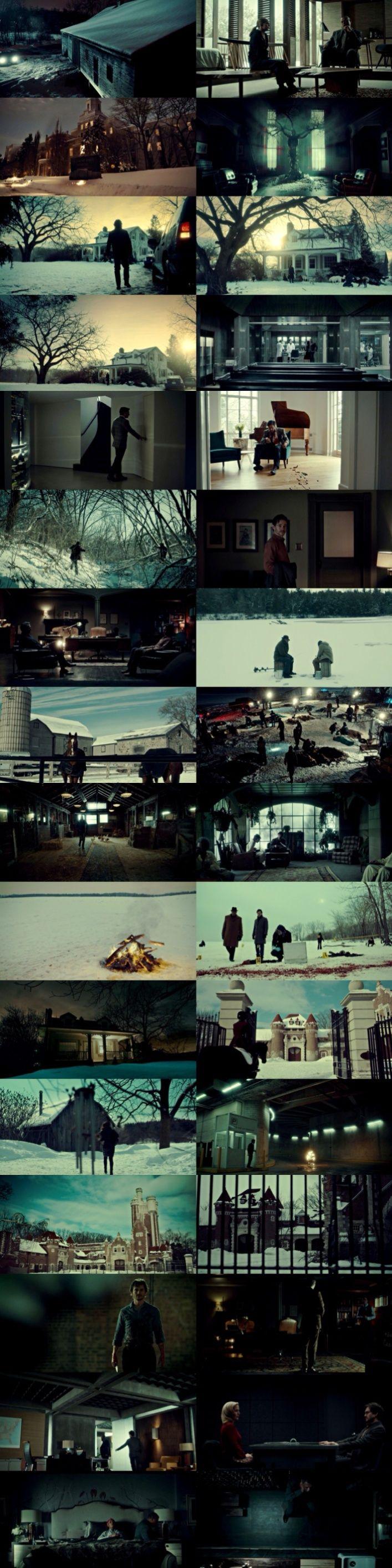 Hannibal Season 2 + Wide Shots (Part 2)…   Film Scenes   Pinterest ...