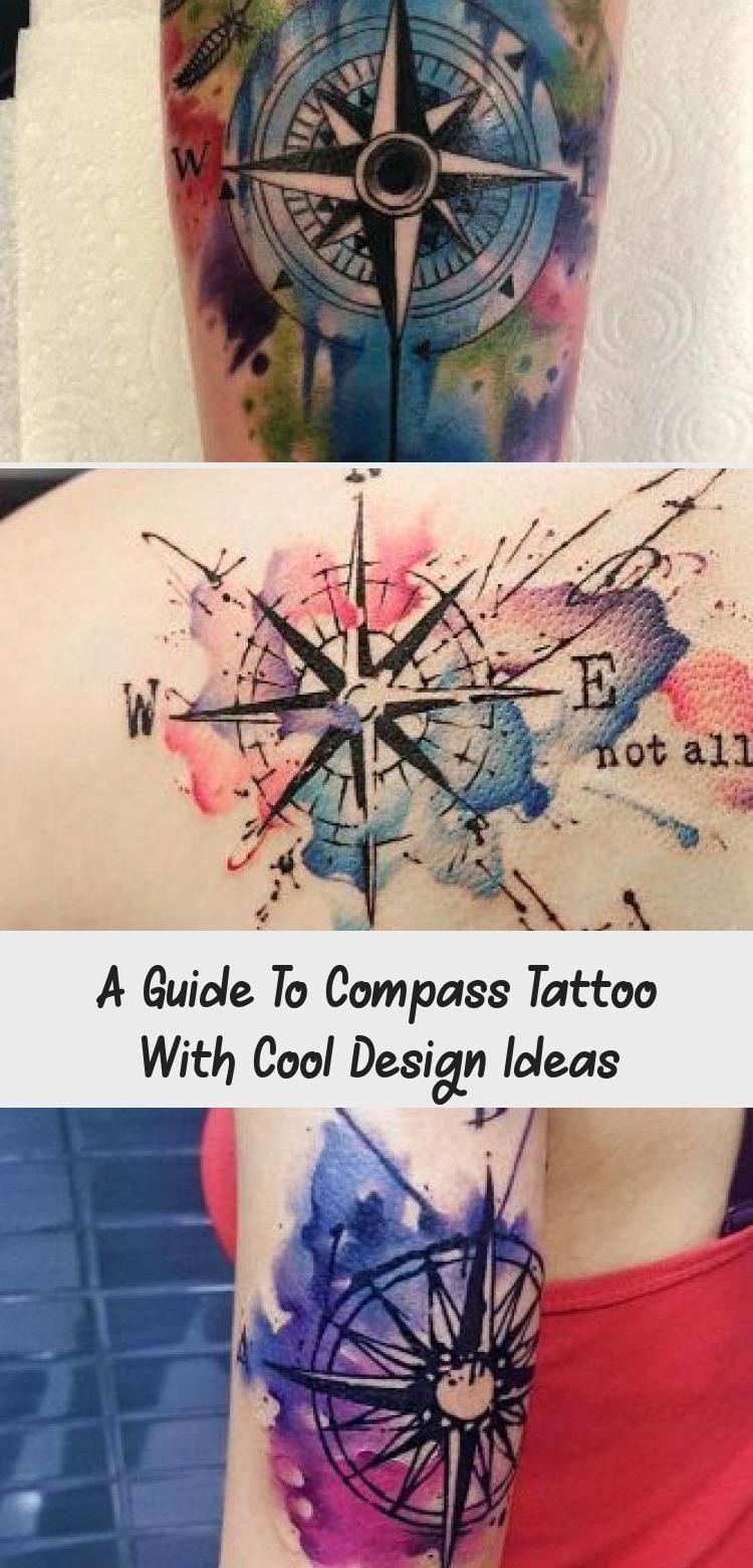 Photo of Un guide du tatouage de boussole avec des idées de design cool – Tatouage