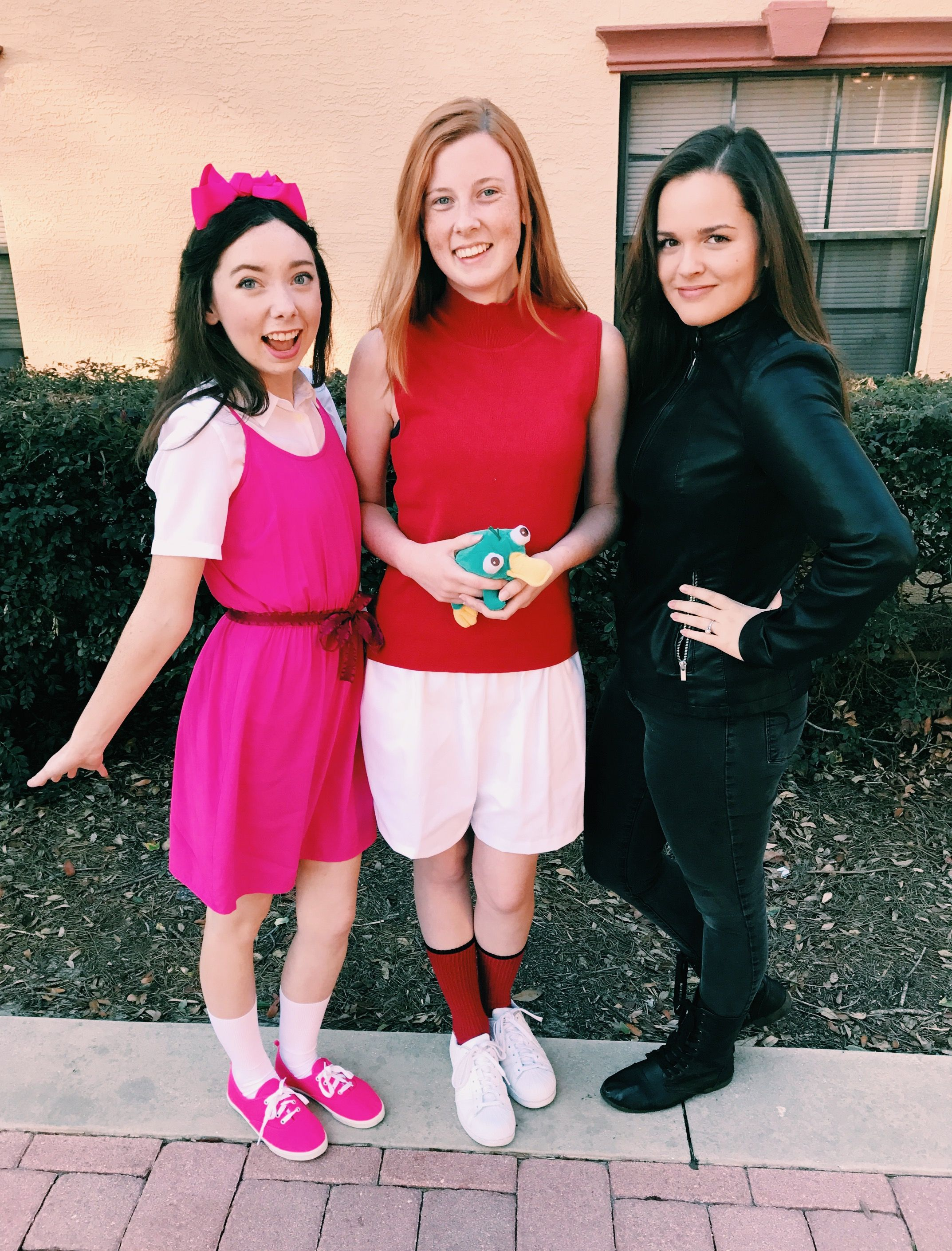 phineas and ferb group halloween costumes for girls | it all started